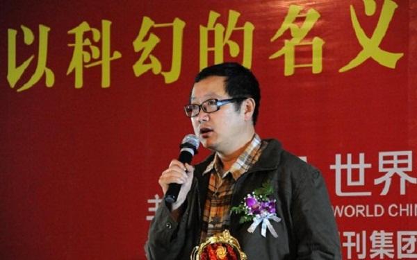 """中国科幻领军人物、""""科幻教主""""刘慈欣"""