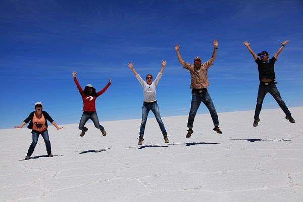 玻利维亚乌尤尼盐湖