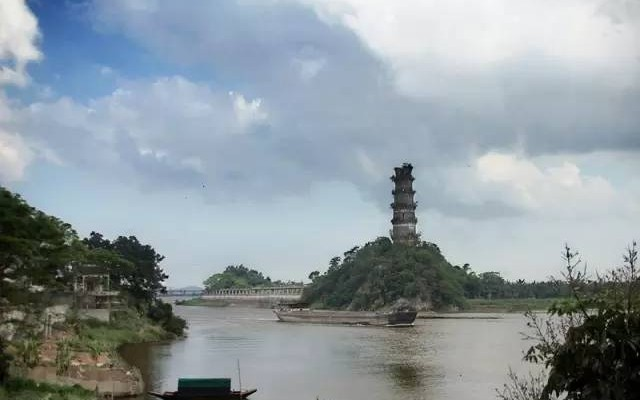 急水塔远景