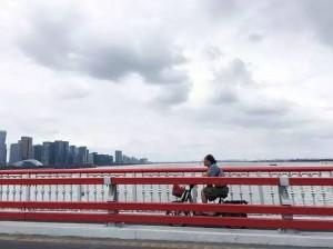 采访当天的杭州