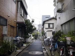 喧嚣之外的东京街道