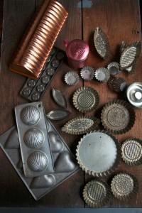 陈楠在欧洲各处古董市场收集来的复古餐具