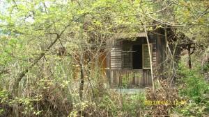 住过的山间废弃小屋