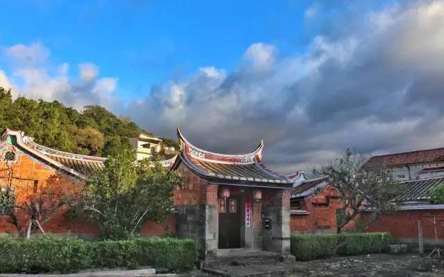 北埔客家老建筑(图片来源:网络)