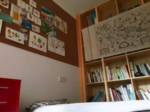 小妮现在的书房