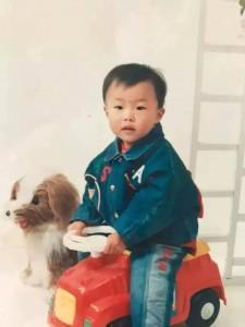 小时候,长得像男生