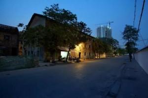 2009年被拆除中的水街,摄影:李朝枢