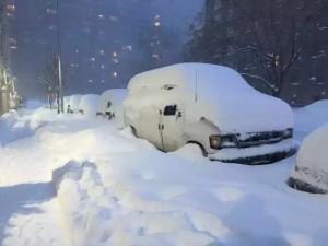 2016年2月,纽约的大暴风雪